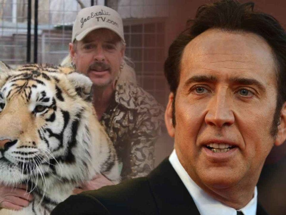Nicolas Cage interpretará a Joe Exotic en una adaptación de Tiger King