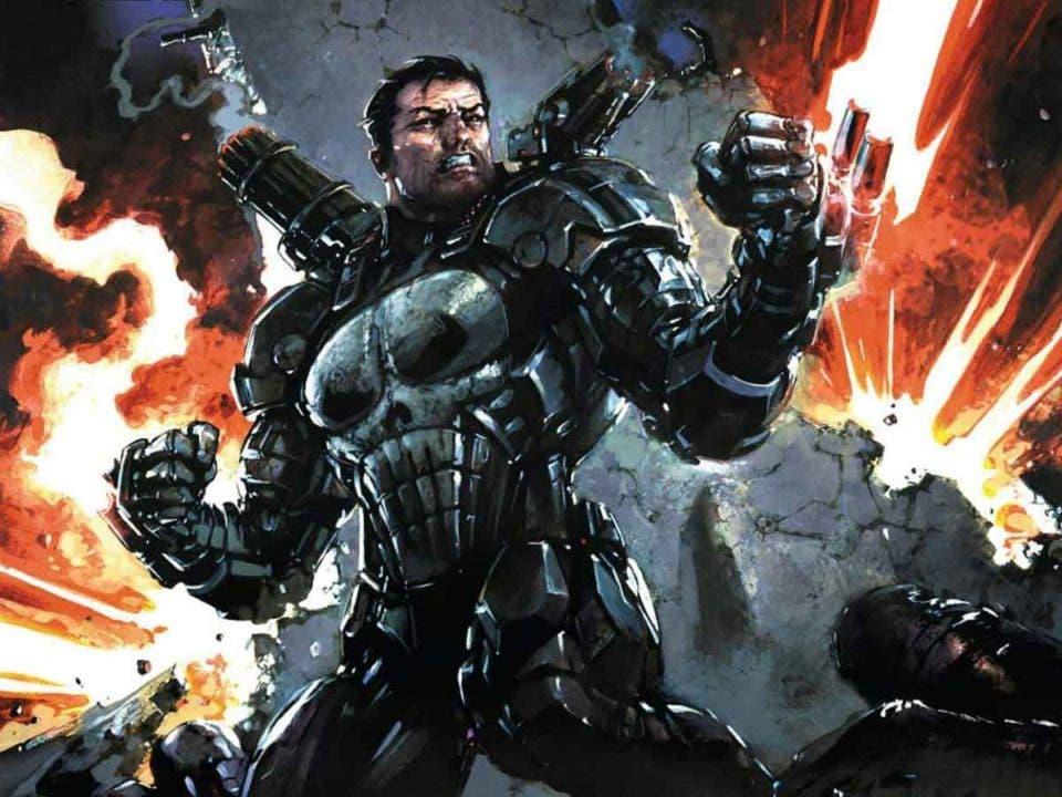 Punisher convirtió una armadura de Iron Man en un arma de destrucción