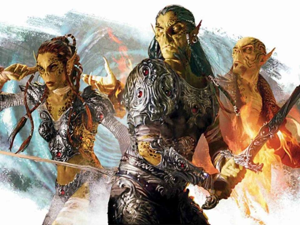 Dungeons and Dragons le roba una raza al creador de Juego de Tronos