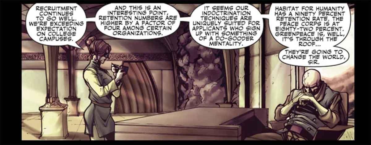 Marvel revela dónde HYDRA obtiene sus mejores reclutas