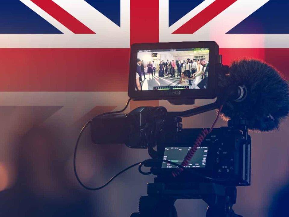 Reino Unido permite que las películas de cine reinicien la producción