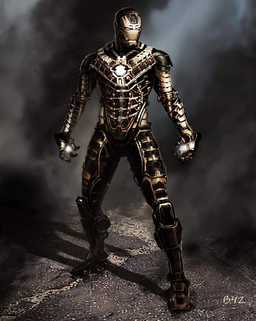 ryan meinerding art Iron man 2