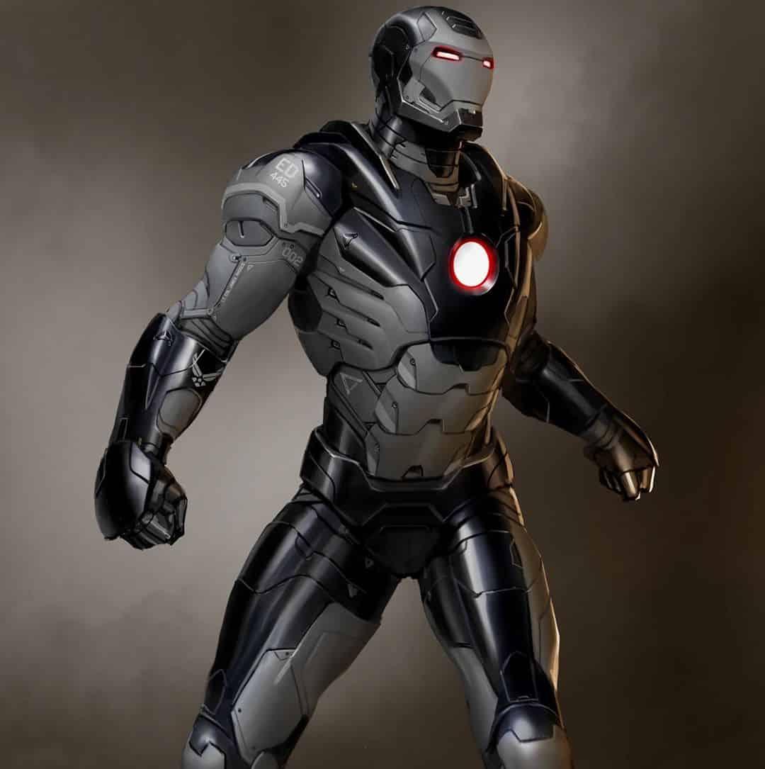 War Machine Iron man 3