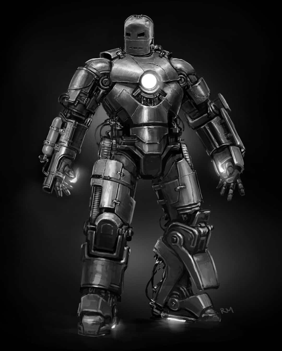 Primera armadura de Iron Man