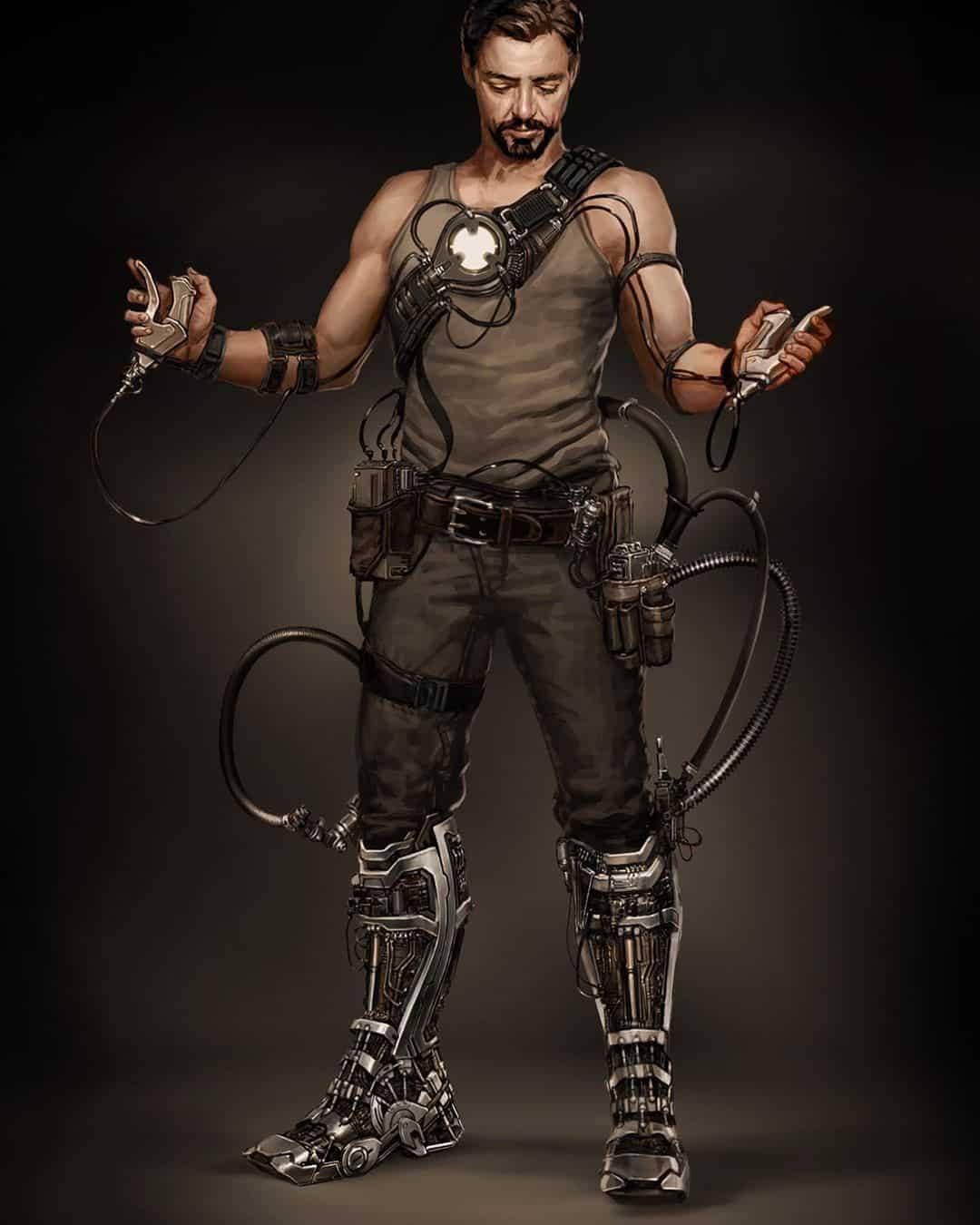 ryan meinerding art diseño Iron man 1