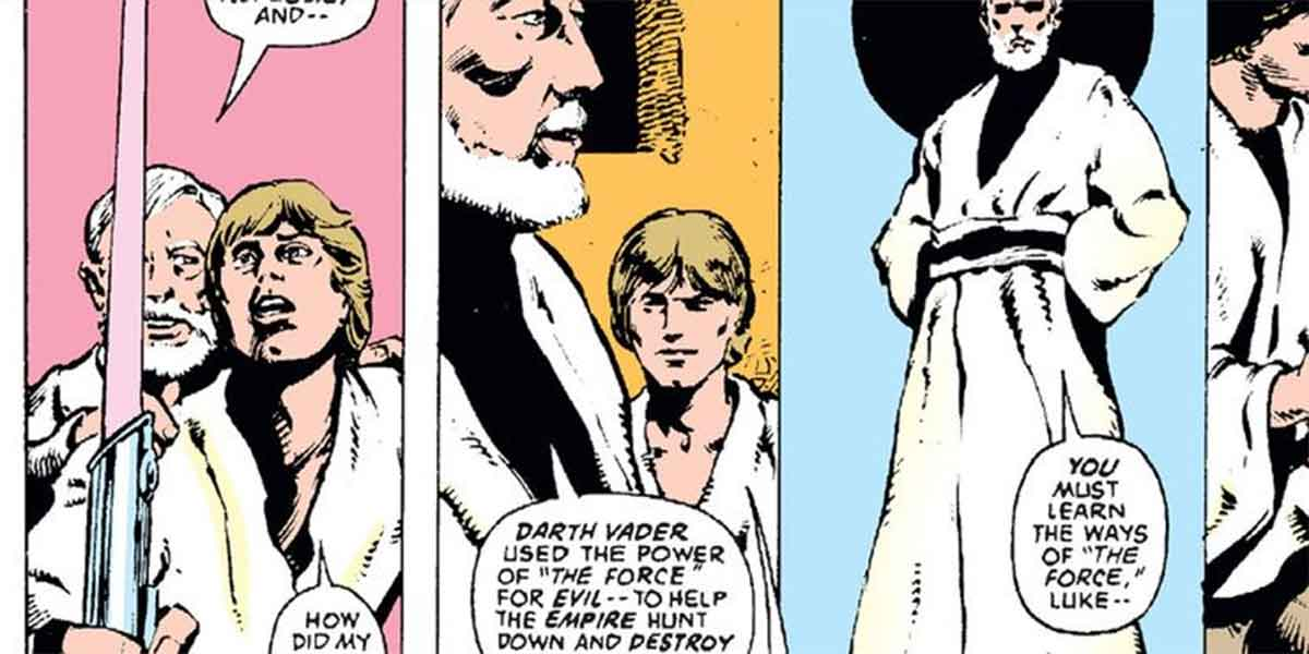 Motivo por el que el sable de luz original de Luke Skywalker era rosa