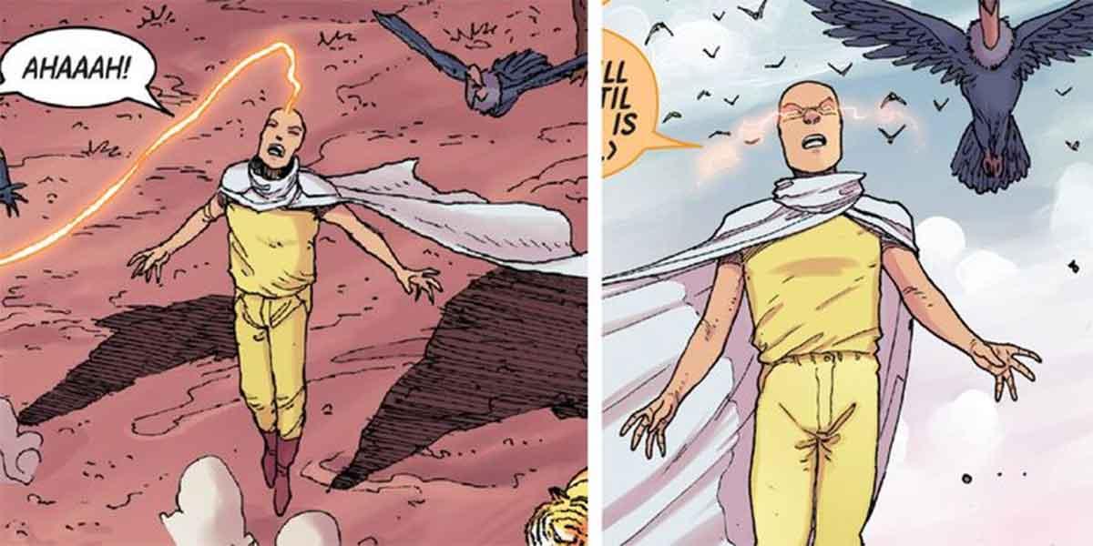 Un personaje de Marvel es igual que Saitama de One-Punch Man