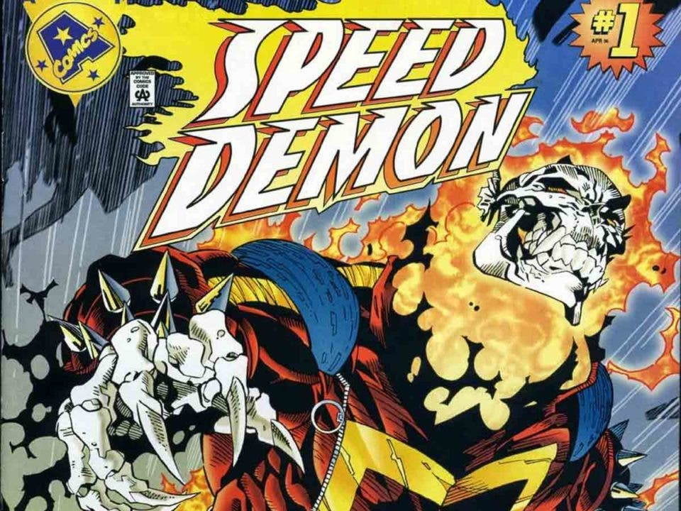 Ghost Rider de Marvel se fusionó con The Flash de DC Comics