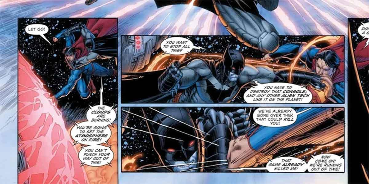 Superman podría incendiar la Tierra a golpes