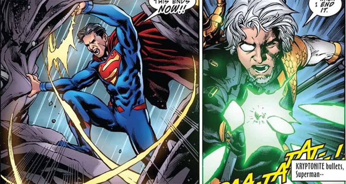 Deathstroke derrotó a Superman de la manera más sencilla posible