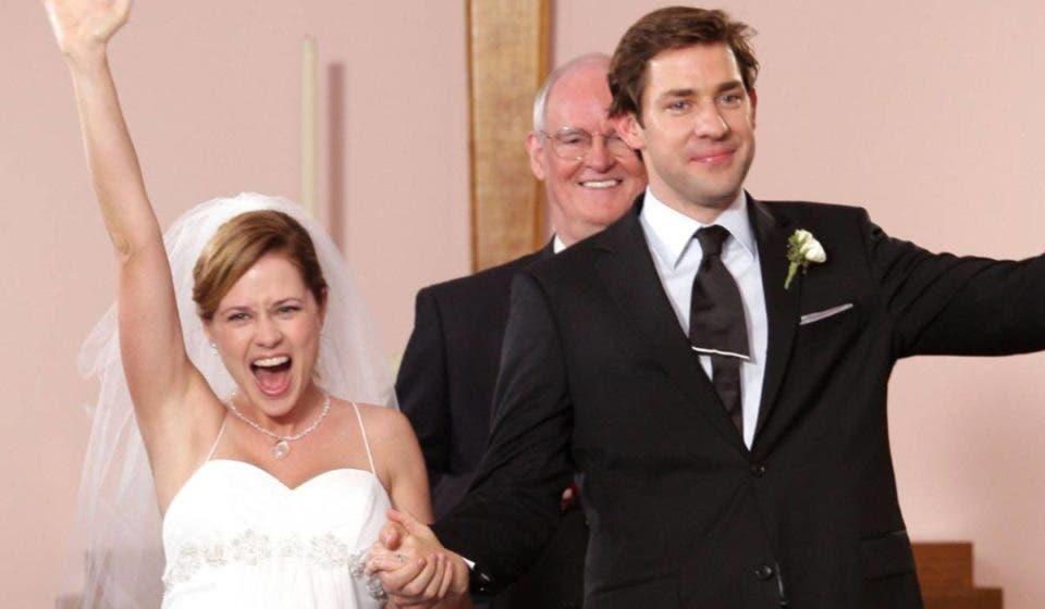 El reparto de The Office recreó el baile de la boda de Jim y Pam