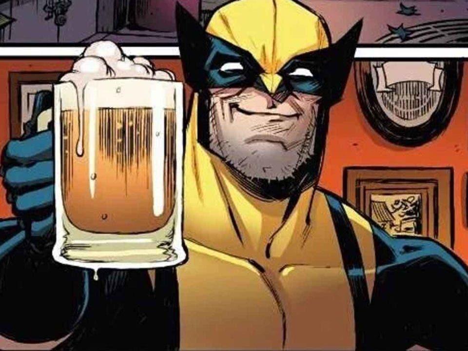 Wolverine inventó la cerveza en el Universo Marvel