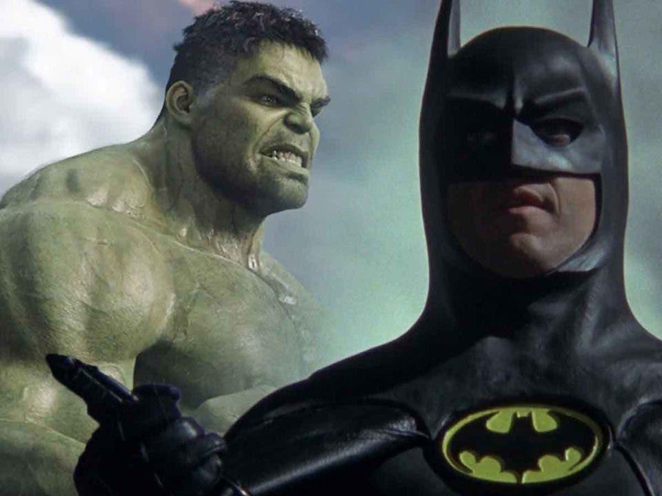 Batman de Michael Keaton será como Hulk en el UCM
