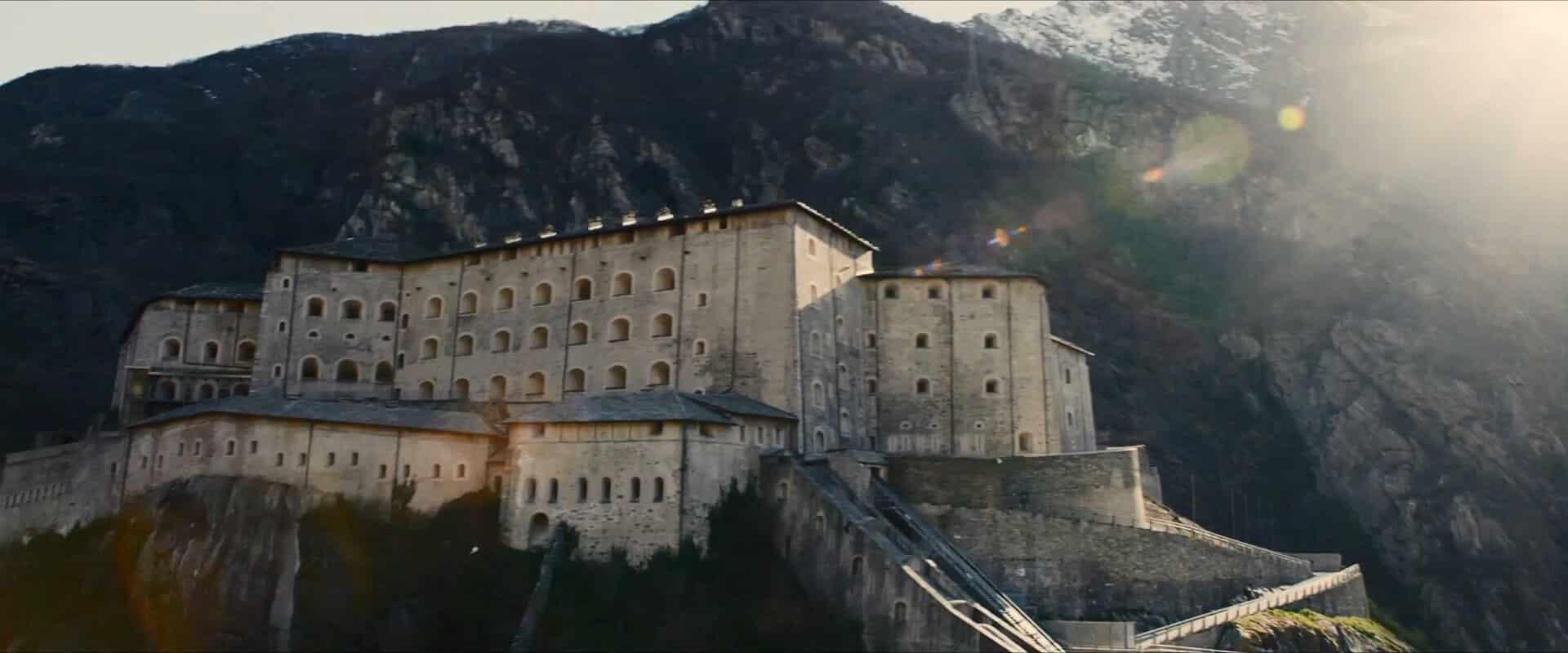 El castillo de Sokovia del Universo cinematográfico de Marvel es Fort Bard