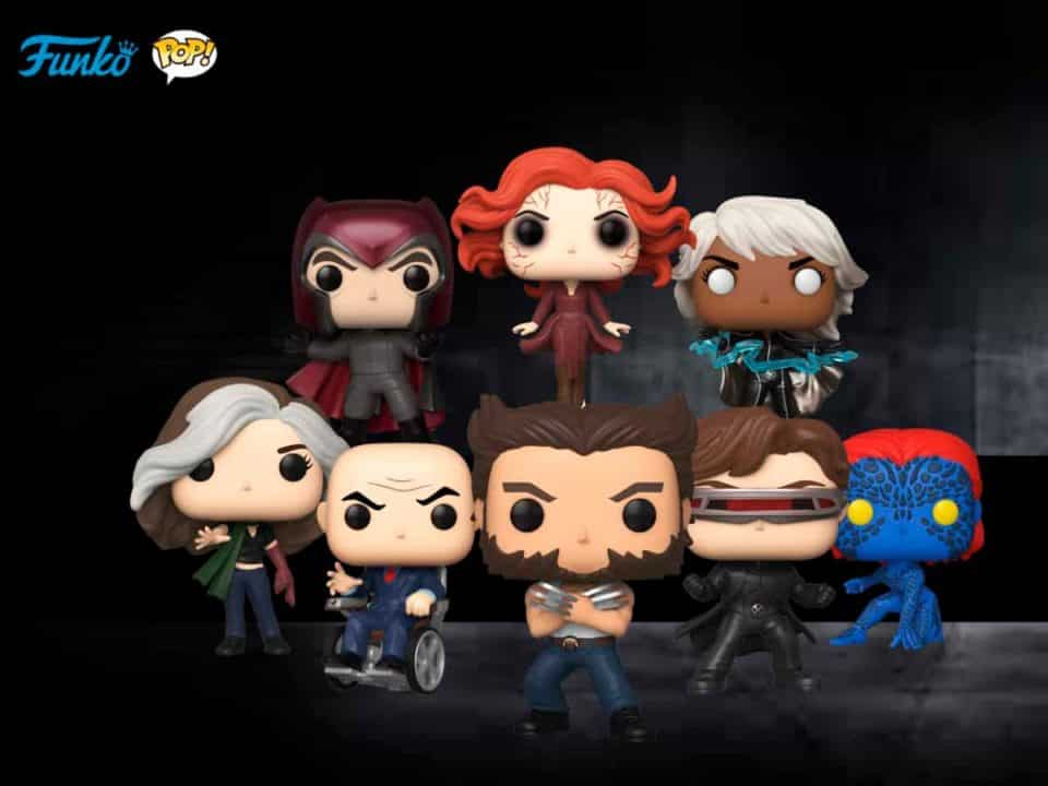 Funko POP X-Men 20º Aniversario