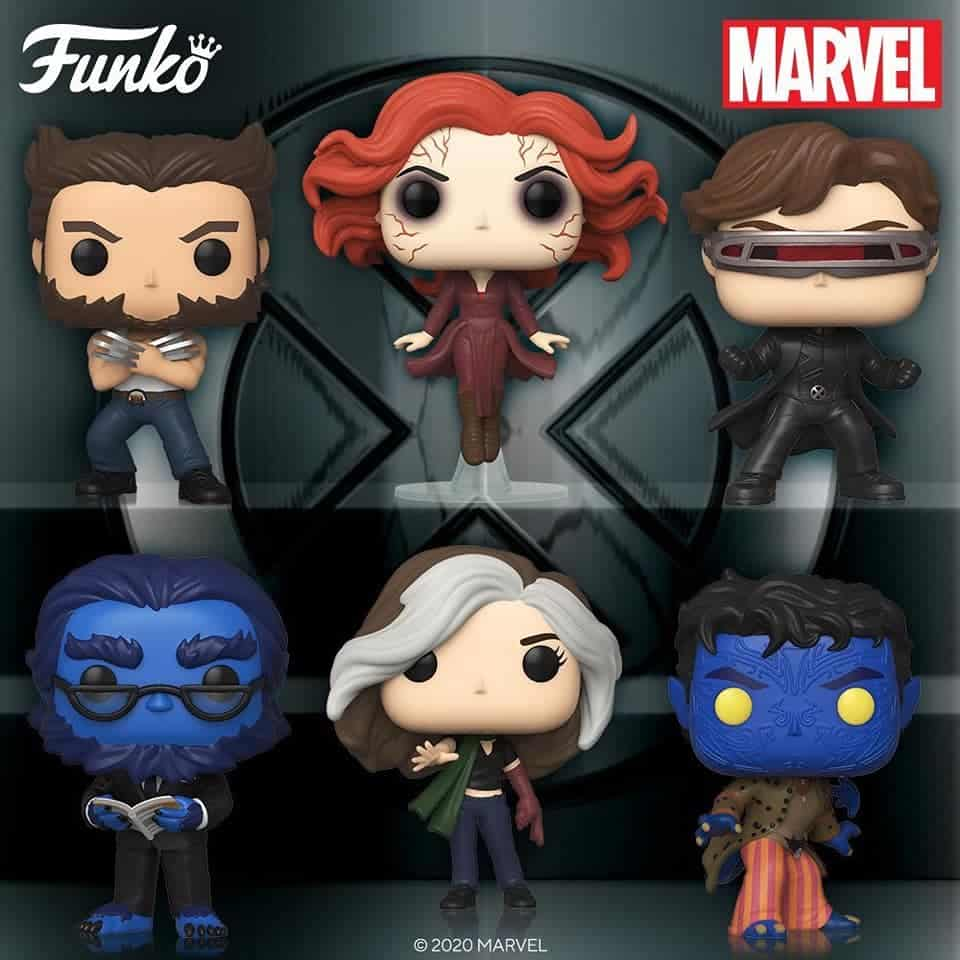 Funko pop X-men 20 aniversario