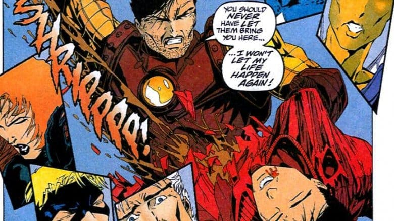 Joven Tony Stark