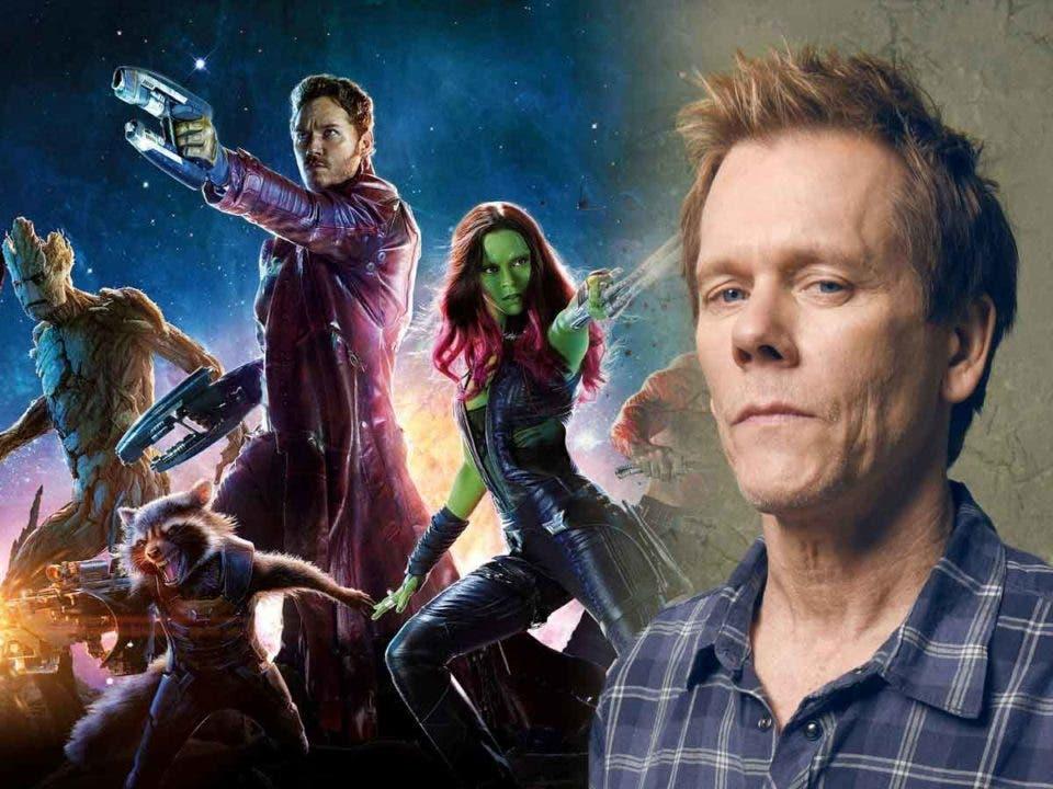 Kevin Bacon reacciona a su referencia en Guardianes de la Galaxia