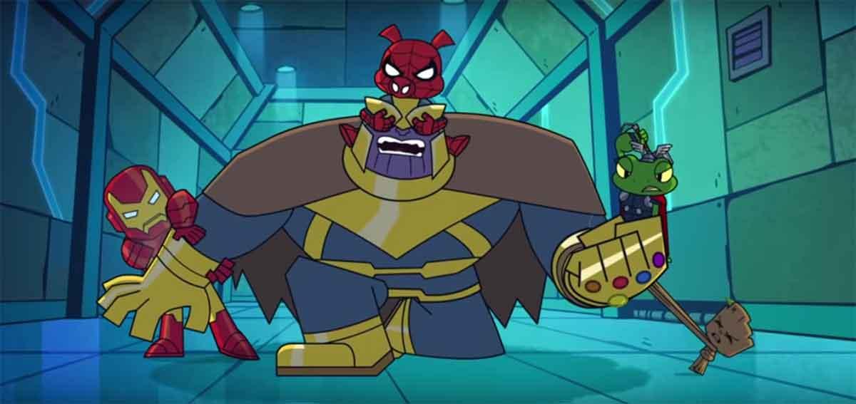 El plan de derrotar Thanos en Vengadores: Infinity War era el correcto