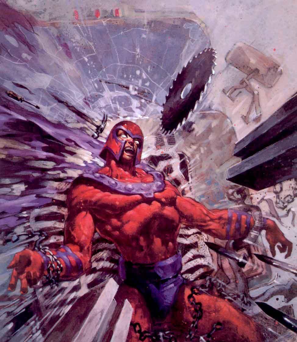 Magneto Marvels Ruinas