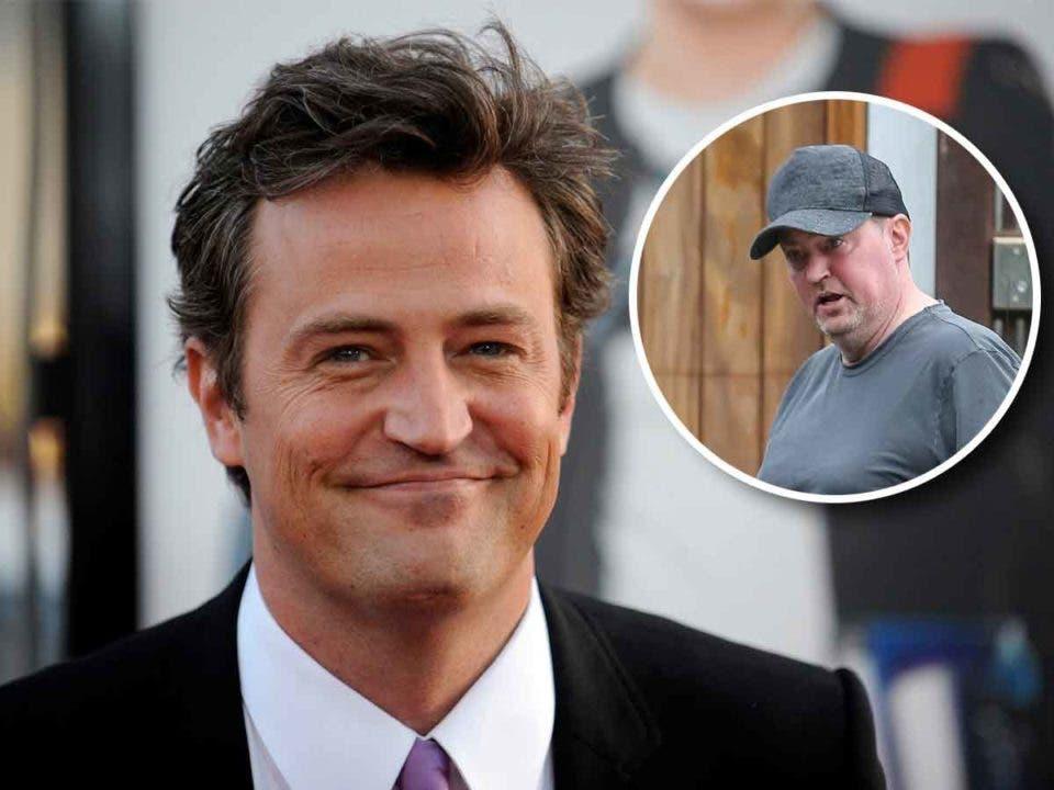 Los fans de Matthew Perry (Friends) están muy preocupados por su estado físico