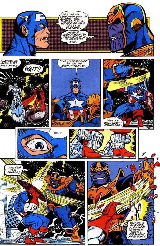 Thanos en El guatelete del infinito