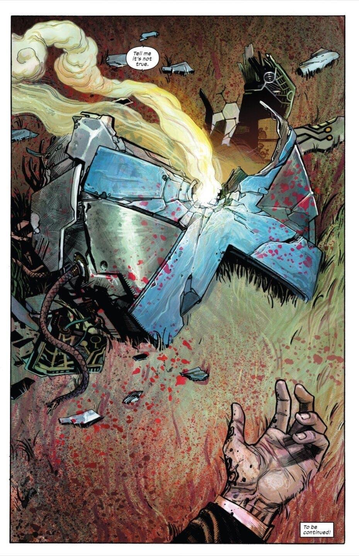 X-Force muerte del profesor X
