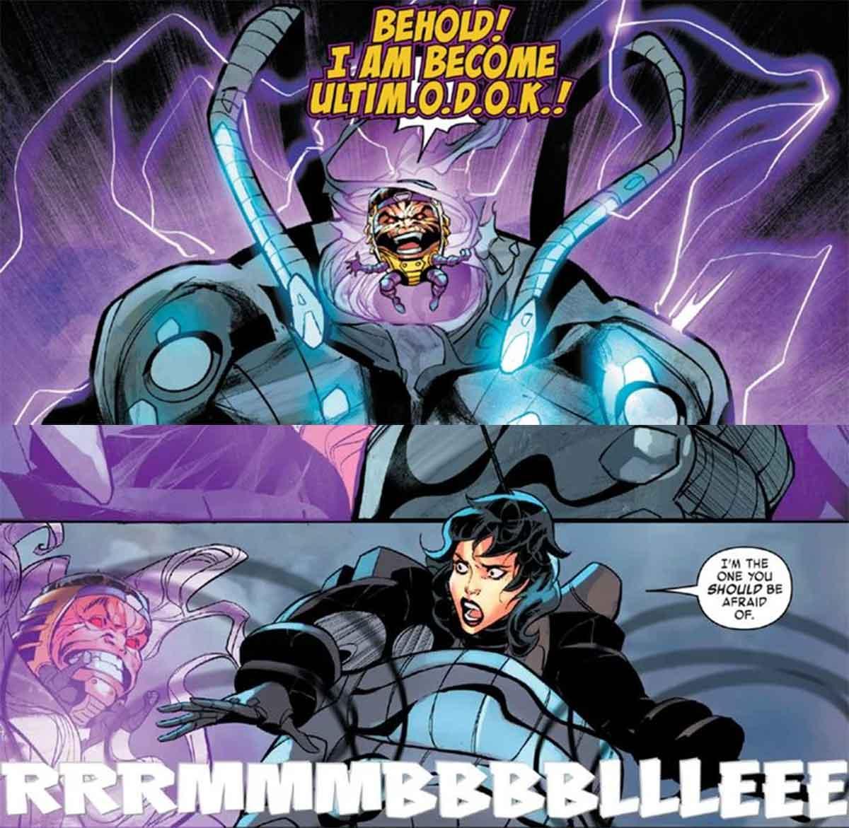 Una heroína de Marvel obtiene la armadura de War Machine