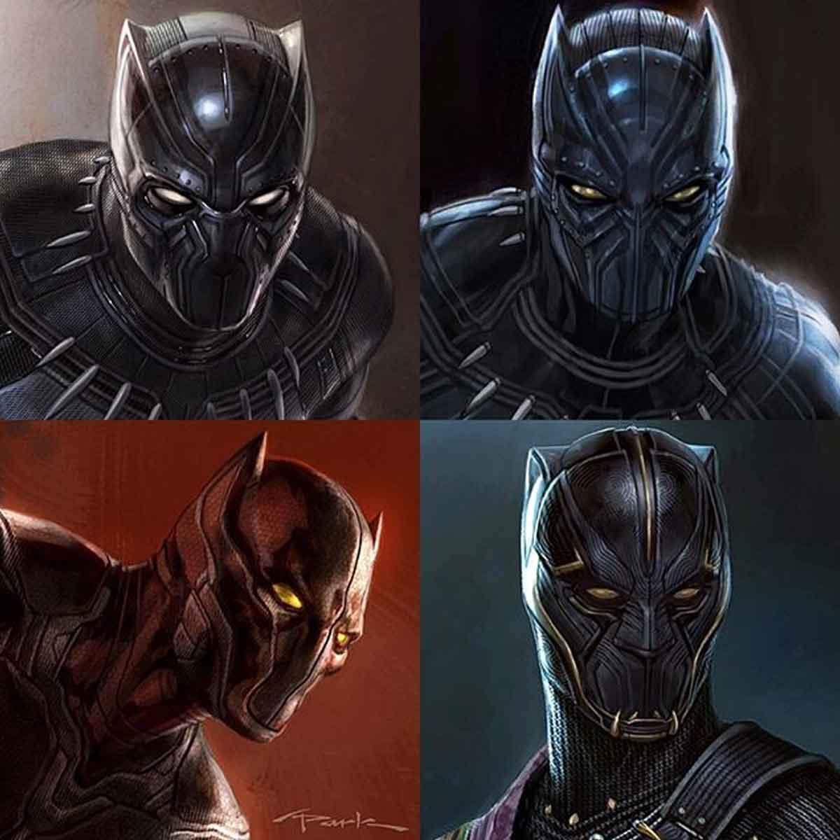 Marvel Studios muestra diseños alternativos de Black Panther