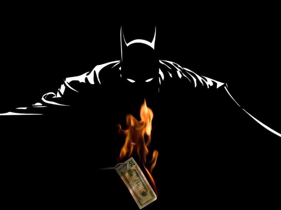 batman pierde dinero