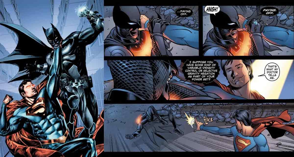 Motivo por el que Batman nunca apareció en la serie de Smallville