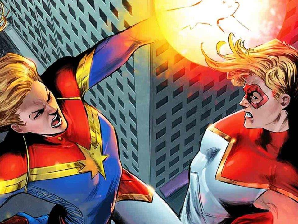 Capitana Marvel mató a una portadora de una Gema del Infinito