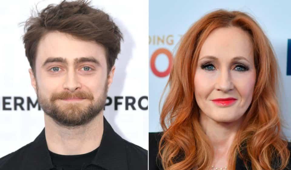 Daniel Radcliffe le contestó a J.K. Rowling, tras los comentarios transfóbicos