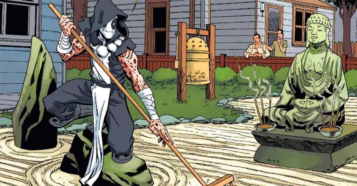 Motivo por le que Deadpool se convirtió en un monje pacifista