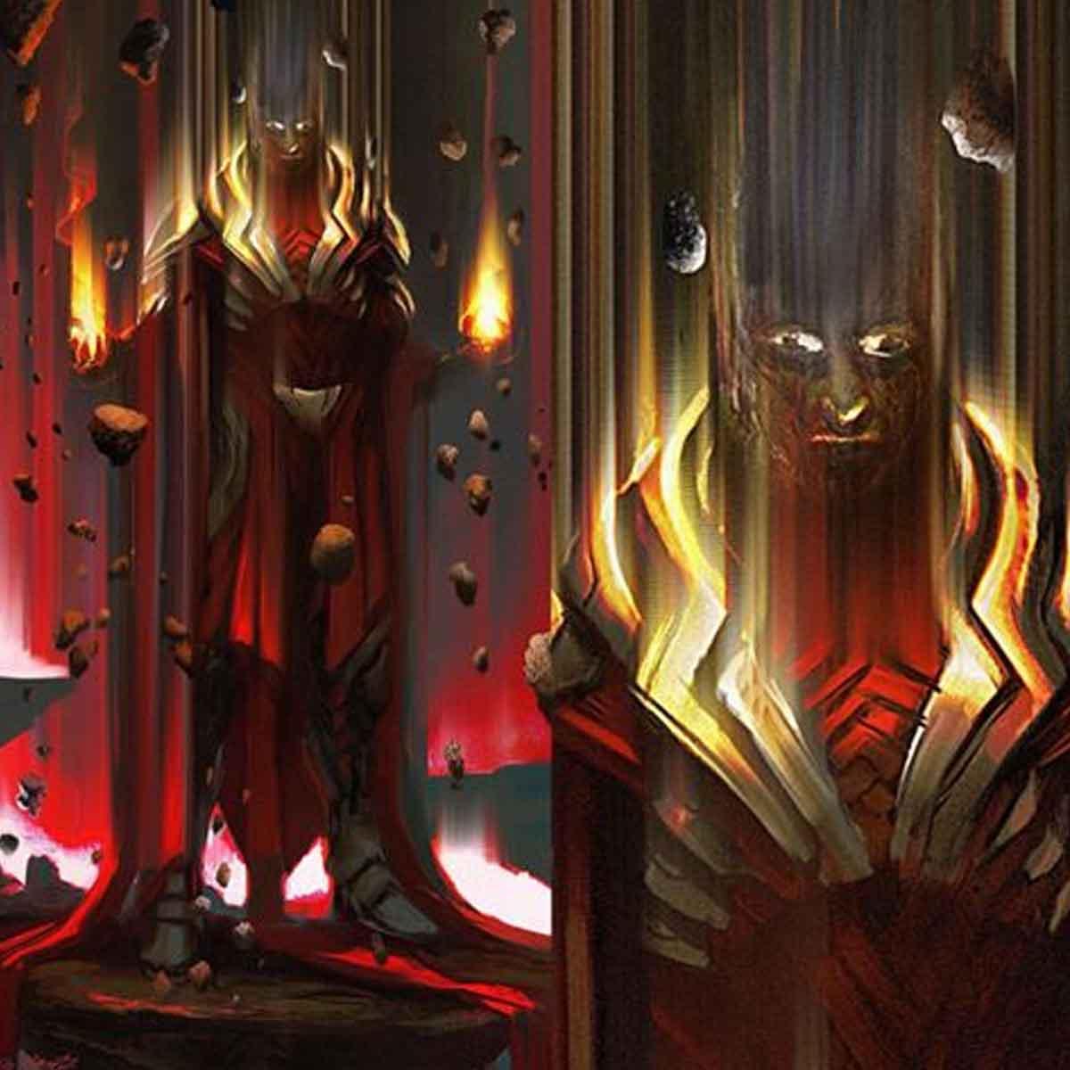 Diseño alternativo al gran villano de Doctor Strange