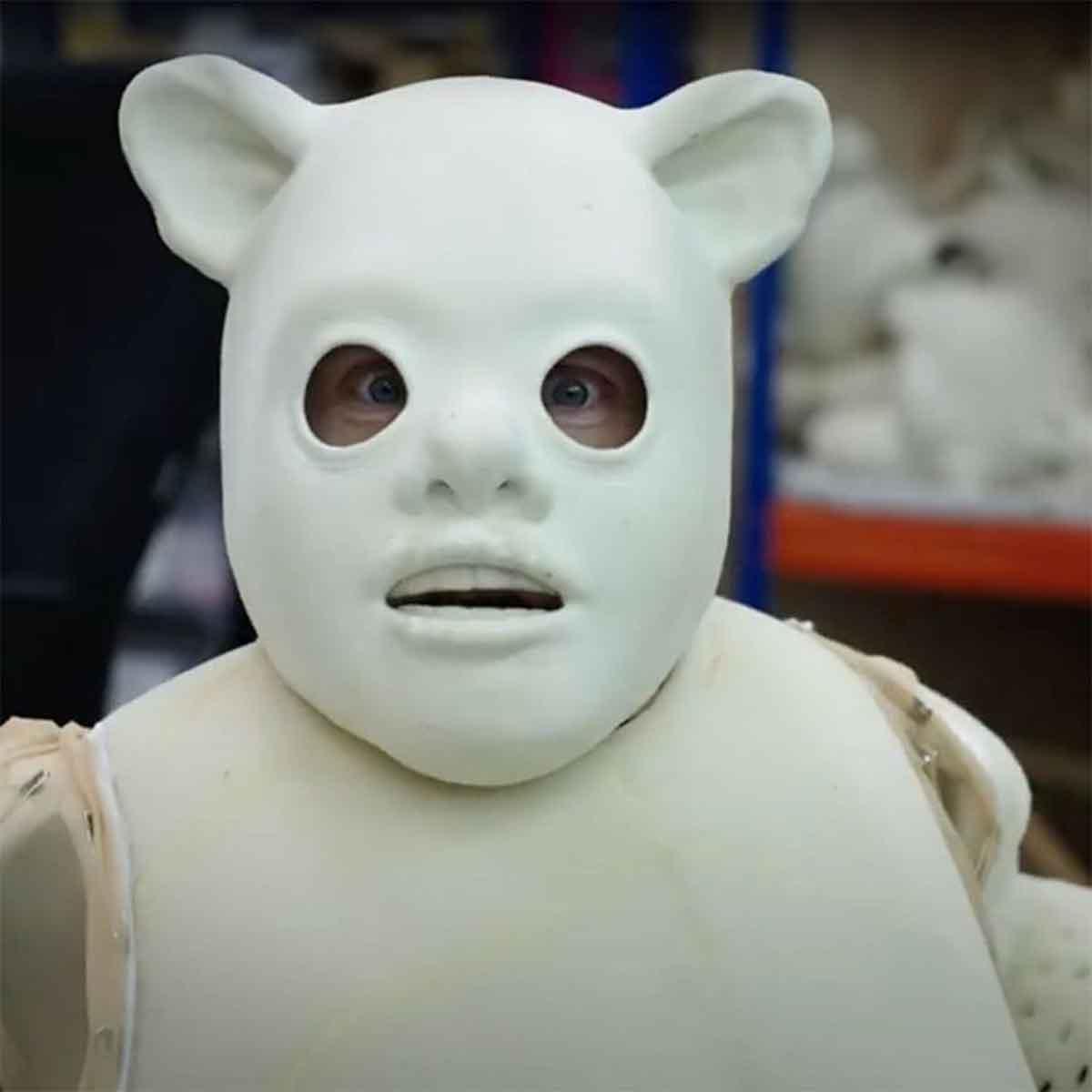¿Alguna vez te has preguntado cómo es un Ewok sin piel?
