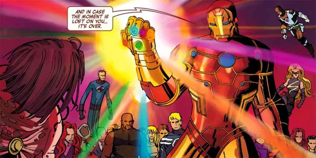 ¿Qué pasó realmente cuando Iron Man usó las Gemas del Infinito?
