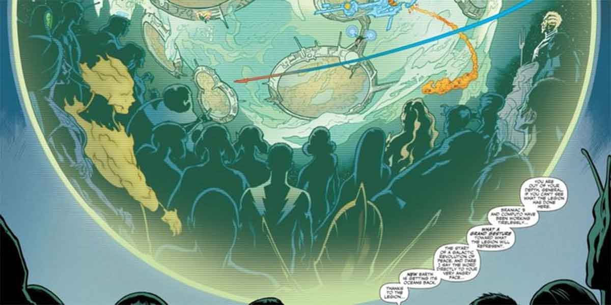 DC Comics revela que salvar la Tierra significa iniciar una guerra en el universo