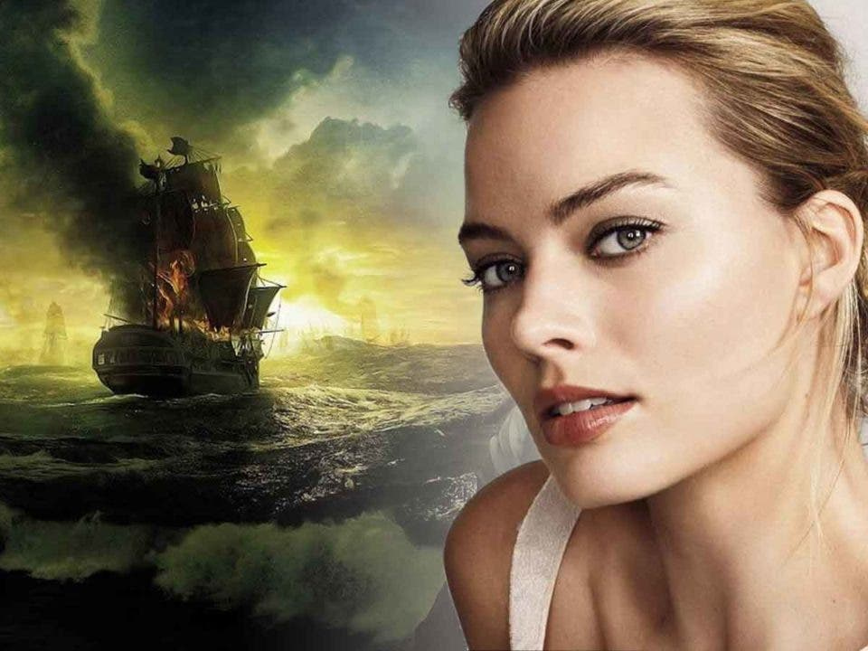 Margot Robbie protagonizará la nueva película de Piratas del Caribe