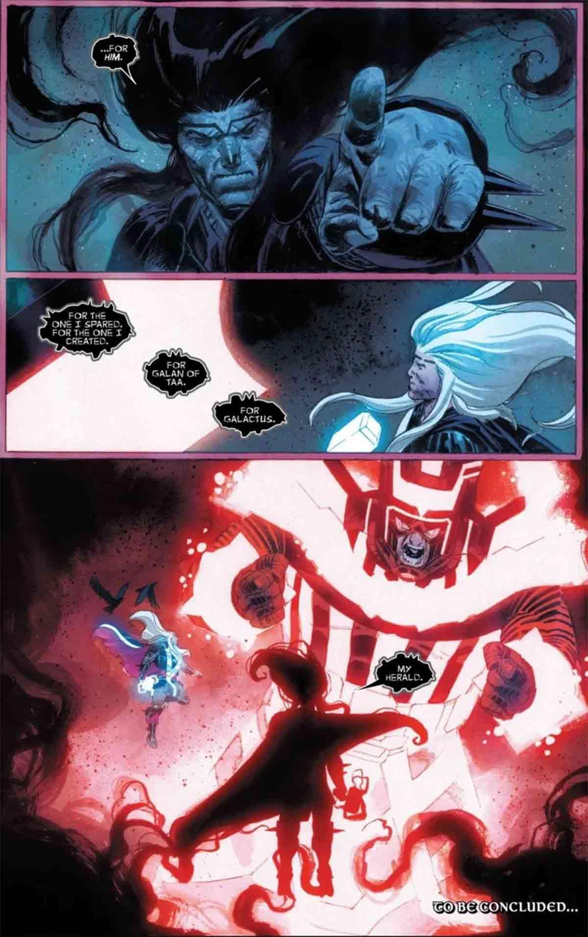 Marvel revela un dato muy importante sobre Galactus