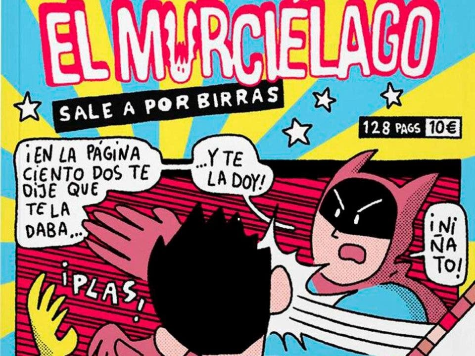 El Murciélago sale a por birras de Álvaro Ortiz que arrasó en la red social durante el confinamiento sale a la venta en papel el jueves 4 de junio, y la librería zaragozana MILCOMICS contará con su propia edición con portada exclusiva