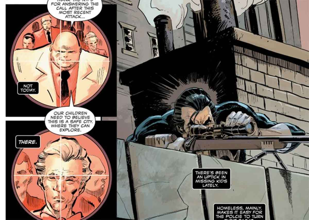 Motivo por el que Punisher no mata a Kingpin