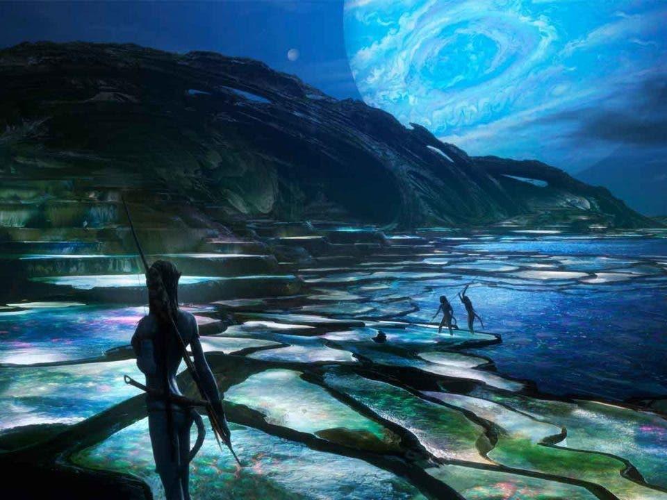 Avatar 2 muestra una espectacular imagen de acción submarina