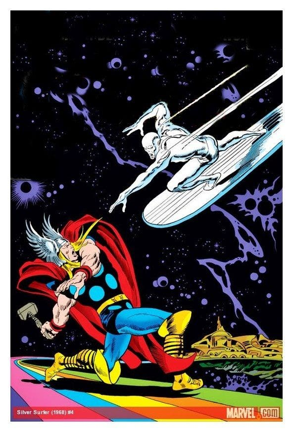 siver surfer thor