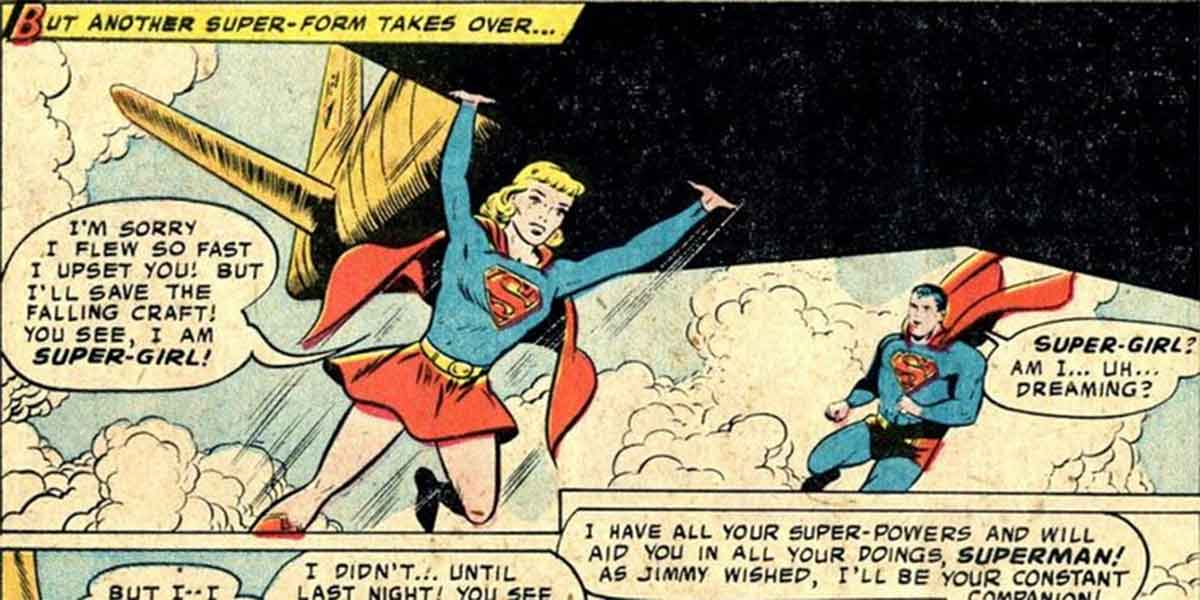 La primera Supergirl de DC Comics no era Kryptoniana