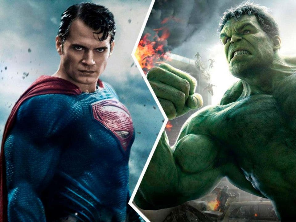 Superman será como Hulk en el Universo Cinematográfico de Marvel