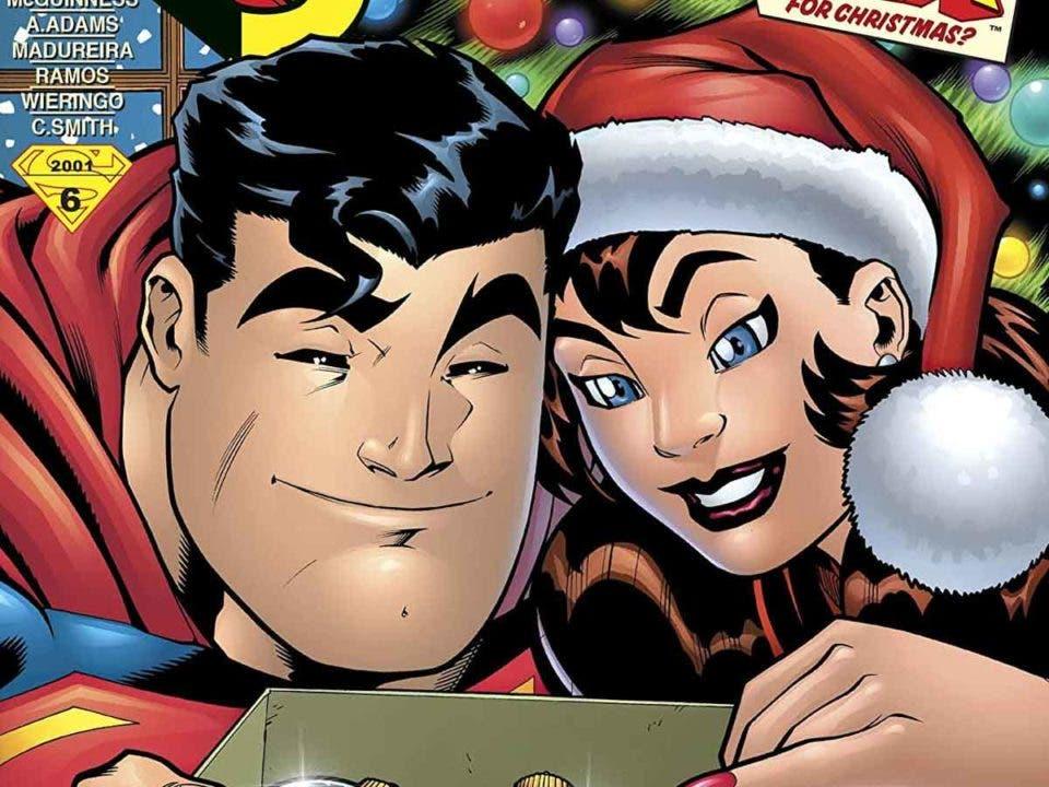 Superman demuestra que es el mejor haciendo regalos