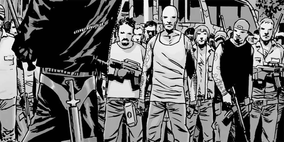 The Walking Dead tiene una referencia secreta al martillo de Thor