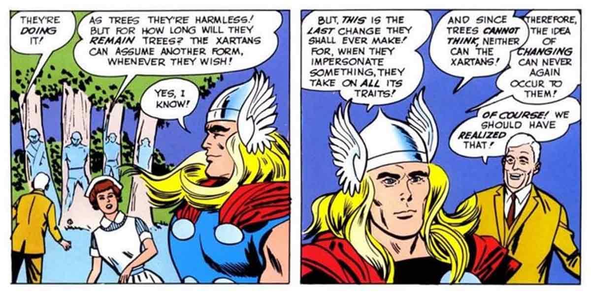 Thor le da a sus enemigos un destino peor que la muerte