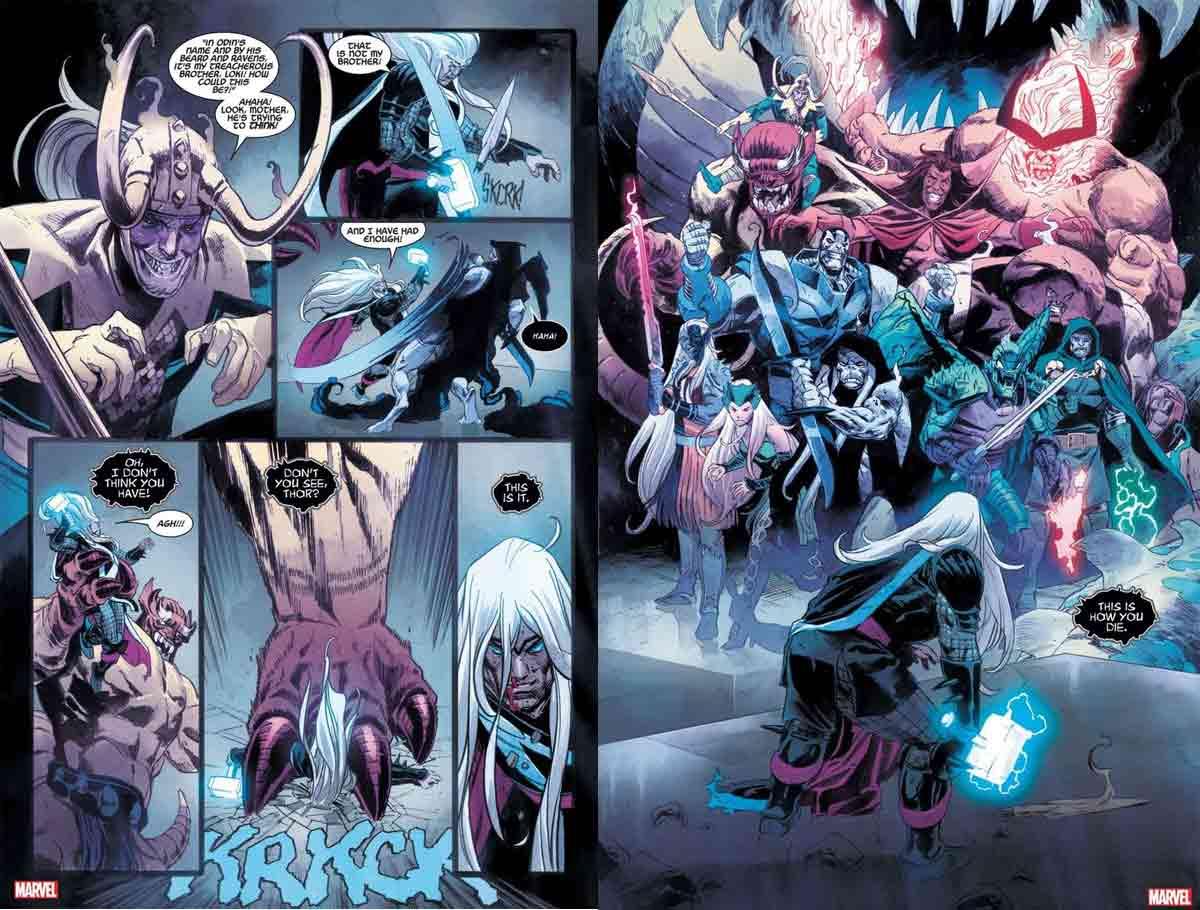 Thor se enfrenta a todos su mayores enemigos a la vez